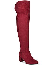 Alfani Women's Step 'N Flex Novaa Over-The-Knee Boots, Created For Macy's