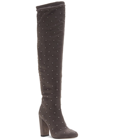 Jessica Simpson Bressy Studded Over-the-Knee Boots