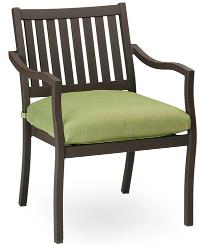 Madison Aluminum Outdoor Dining Chair