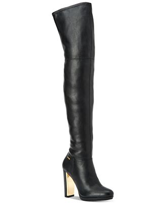 Calvin Klein Women's Pammie Over-The-Knee Boots