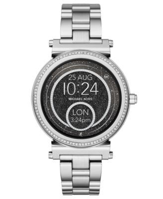 Michael Kors Access Women S Sofie Stainless Steel Bracelet
