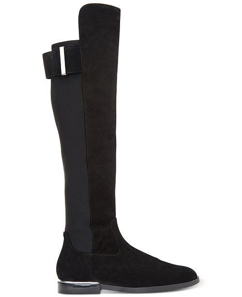 d0fdd8ef8de Calvin Klein Women s Priya Over-The-Knee Boots   Reviews - Boots ...