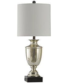StyleCraft Northbay Mercury Glass Table Lamp