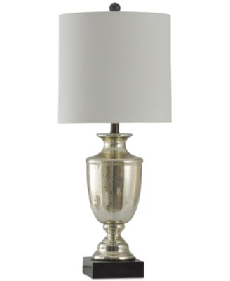 Charming StyleCraft Northbay Mercury Glass Table Lamp