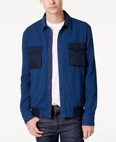 American Rag Men's Denim Shirt Jacket, Created for Macy's