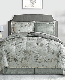 Patina 8-Pc. Queen Reversible Bedding Ensemble