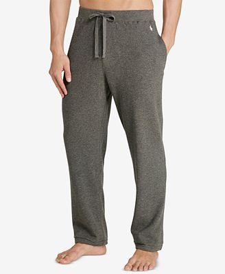 Polo Ralph Lauren Men's Waffle-Knit Thermal Pajama Pants