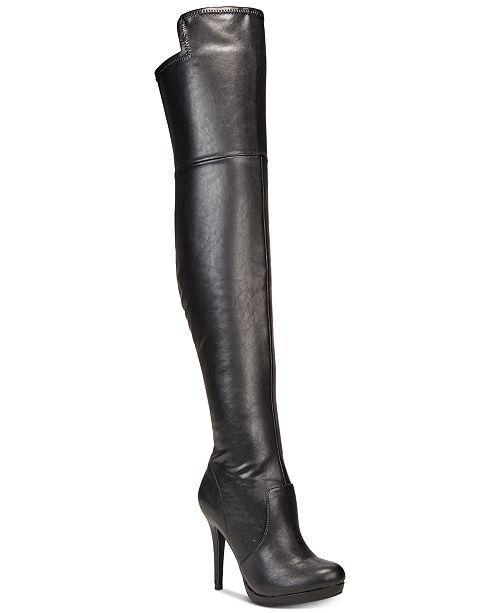 2525b43ea25d ... Thalia Sodi Blairre Wide-Calf Wide-Width Over-The-Knee Platform Boots  ...