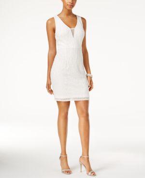 Adrianna Papell Beaded Illusion Dress 5014878