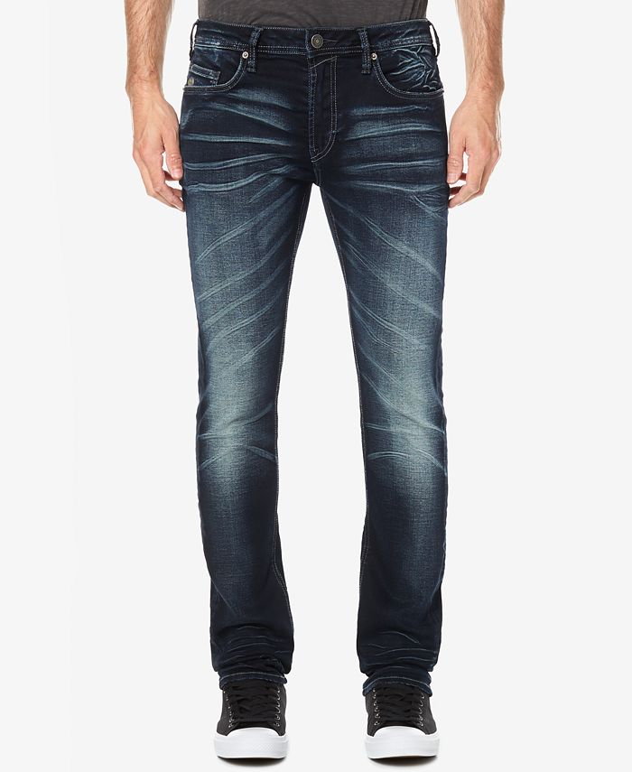 Buffalo David Bitton - Men's Faded Dark Indigo Jeans