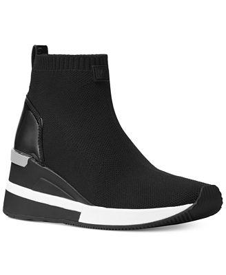 Michael Michael Kors Skyler Sneaker Booties Boots
