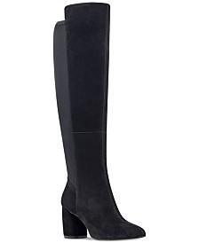 988825a88ab Black 7 Nine West Boots - Macy s
