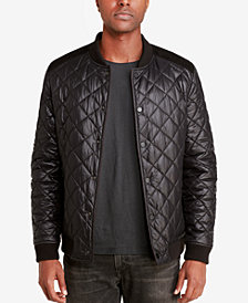 Sean John Men's Reversible Bomber Jacket, Created for Macy's
