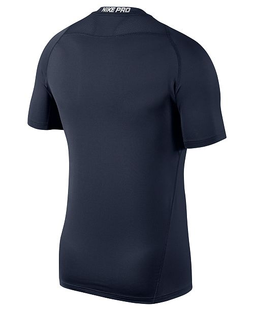 7ab1c94e Nike Men's Pro Dri-FIT Fitted T-Shirt & Reviews - T-Shirts - Men ...