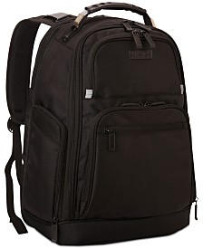 "Kenneth Cole Reaction Icy Hot 18"" Expandable Dual-Compartment Computer Backpack"