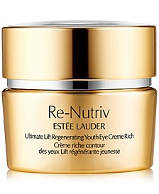 Re-Nutriv Ultimate Lift Regenerating Youth Eye Creme Rich, 0.5-oz.