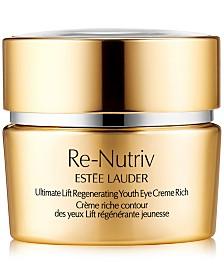 Estée Lauder Re-Nutriv Ultimate Lift Regenerating Youth Eye Creme Rich, 0.5-oz.
