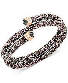 Swarovski Crystaldust Coil Wrap Bracelet