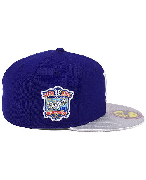 on sale 114e5 2d9d5 New Era Los Angeles Dodgers Ultimate Patch Collection Anniversary 59FIFTY  Cap ...