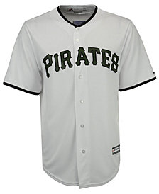 Majestic Men's Pittsburgh Pirates USMC Cool Base Jersey