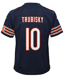 Nike Mitchell Trubisky Chicago Bears Game Jersey, Big Boys (8-20)