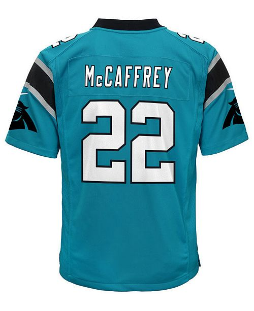 ... Nike Christian McCaffrey Carolina Panthers Game Jersey 89a68e7a7