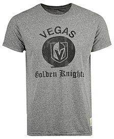 Retro Brand Men's Vegas Golden Knights Sticks Logo Victory T-Shirt