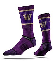 Washington Huskies Crew Socks II
