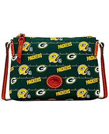 Dooney & Bourke Green Bay Packers Nylon Crossbody Pouchette