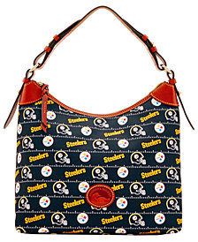 Dooney & Bourke Pittsburgh Steelers Nylon Hobo