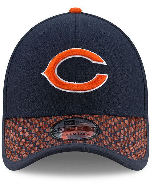 37d31834940 New Era. Boys  Chicago Bears 2017 Official Sideline 39THIRTY Cap. Be the  first to Write a Review. main image  main image  main image ...