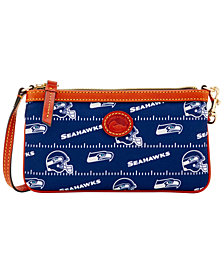 Dooney & Bourke Seattle Seahawks Nylon Wristlet