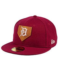 New Era Detroit Tigers The Logo of Leather 59FIFTY Fitted Cap
