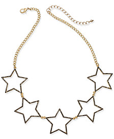 I.N.C. Five-Star Statement Necklace, Created for Macy's