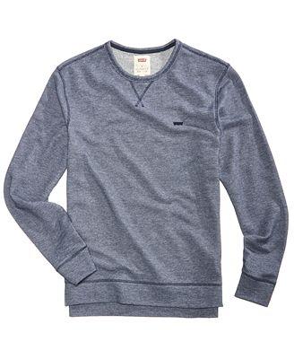Levi's® Men's Rafael Pullover Shirt - Hoodies & Sweatshirts - Men ...
