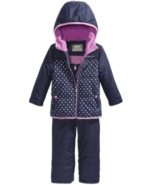 Hawke  Co Outfitter 2Pc Snowsuit Little Girls (46X)