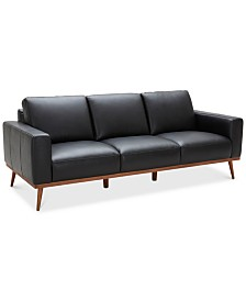 "Marsilla 88"" Leather Sofa, Created for Macy's"