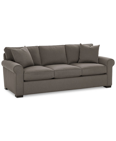 Astra 91 Quot Fabric Sofa Created For Macy S Furniture Macy S