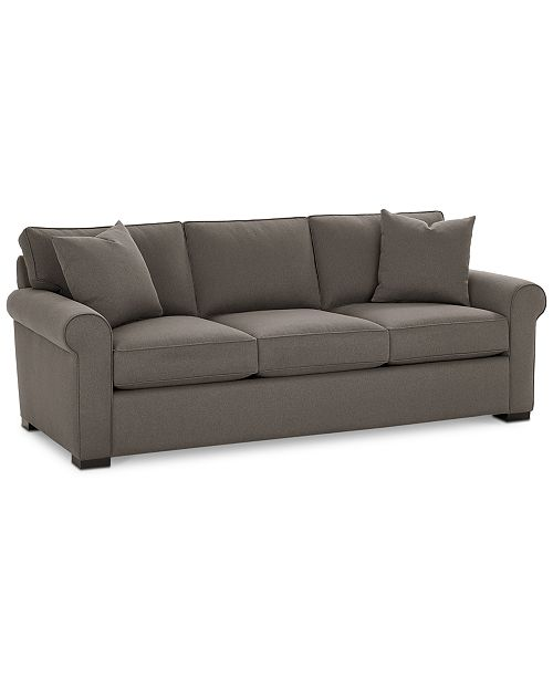 "Macys Furniture Clearance: Furniture Astra 91"" Fabric Sofa, Created For Macy's"