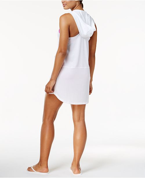 d099b993e1 Nike Hooded Dress Cover-Up & Reviews - Swimwear - Women - Macy's