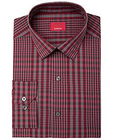 Alfani Men's Slim-Fit Stretch Bold Even Plaid Dress Shirt, Created for Macy's