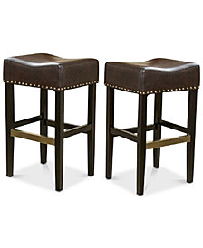 Fardell Backless Bar Stool (Set Of 2), Quick Ship