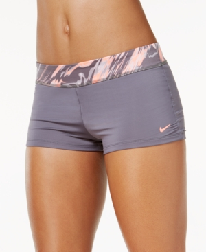 Nike Marble-Print Swim...