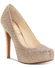 Jessica Simpson Jessica Simspon Parisah Platform Pumps Women's Shoes zaLnl