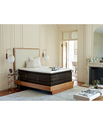 Stearns & Foster Reserve No. 02 Luxury Plush Euro Pillowtop Mattress- California King , Created for Macy's