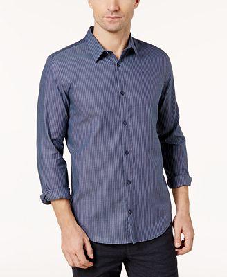 Calvin Klein Men's Infinite Non-Iron Dobby Shirt