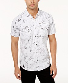 INC Men's Splatter Shirt