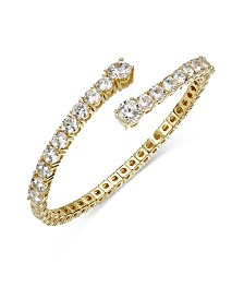 Joan Boyce Crystal Flex Bangle Bracelet