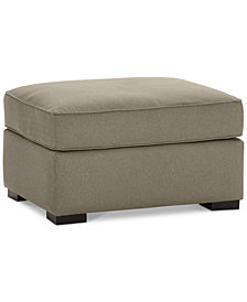 Astra Fabric Ottoman - Custom Colors, Created for Macy's