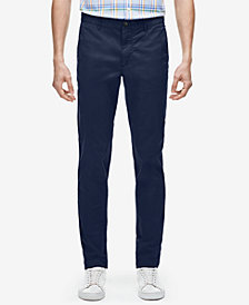 Lacoste Men's Slim-Fit Twill Pants